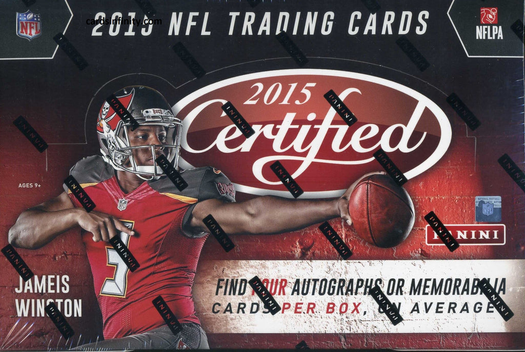 2015 Panini Certified Football Hobby Box