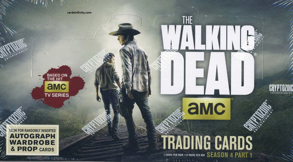 2016 Cryptozoic The Walking Dead Season 4: (Part 1) Hobby Box