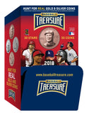 2018 Baseball Treasure MLB Collectible Baseball Coin Gravity Feed Box