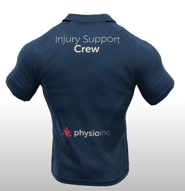 Injury Support Crew Polo