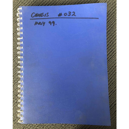 PE Chassis and Engine Log Books