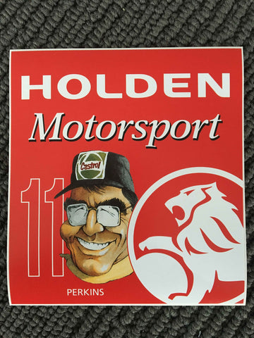 Holden Motorsport LP 11 Stickers