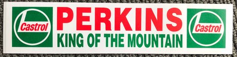 Perkins KING OF THE MOUNTAIN Stickers