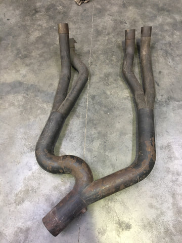 Exhaust Secondary USED Y Piece VT