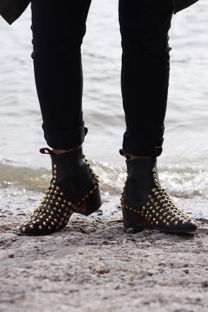 Rock Intense Gold Boots
