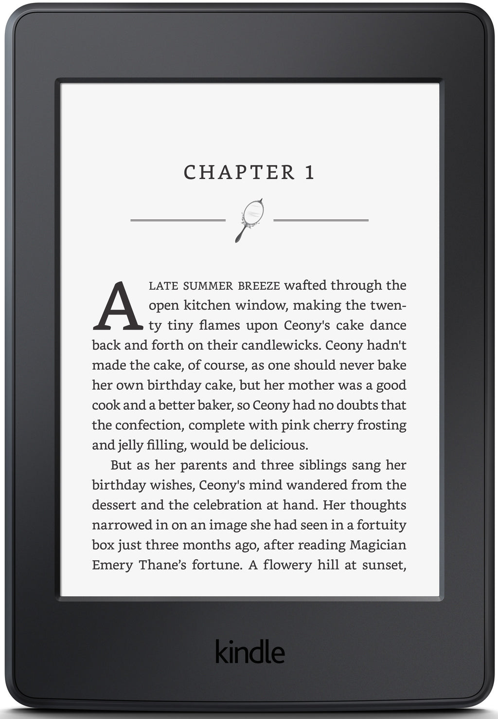 Amazon Kindle Paperwhite, Black, Wi-Fi without Advertisements (US Set, 7th Generation)