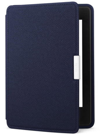 Amazon Kindle Paperwhite Leather Cover, Ink Blue