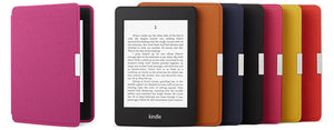 Amazon Kindle Paperwhite Leather Cover, Fuchsia (Previous Generation)