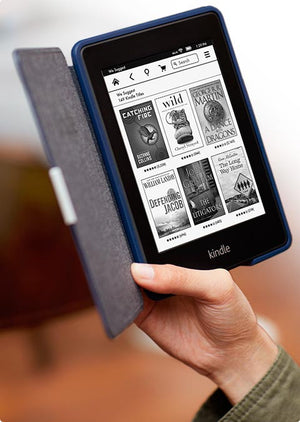 [redacted] Amazon Kindle Paperwhite, Black, Wi-Fi with Advertisements (US Set, 7th Generation)