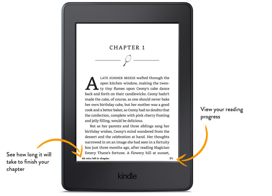 [redacted] Amazon Kindle Paperwhite, White, Wi-Fi with Advertisements (US Set, 7th Generation)