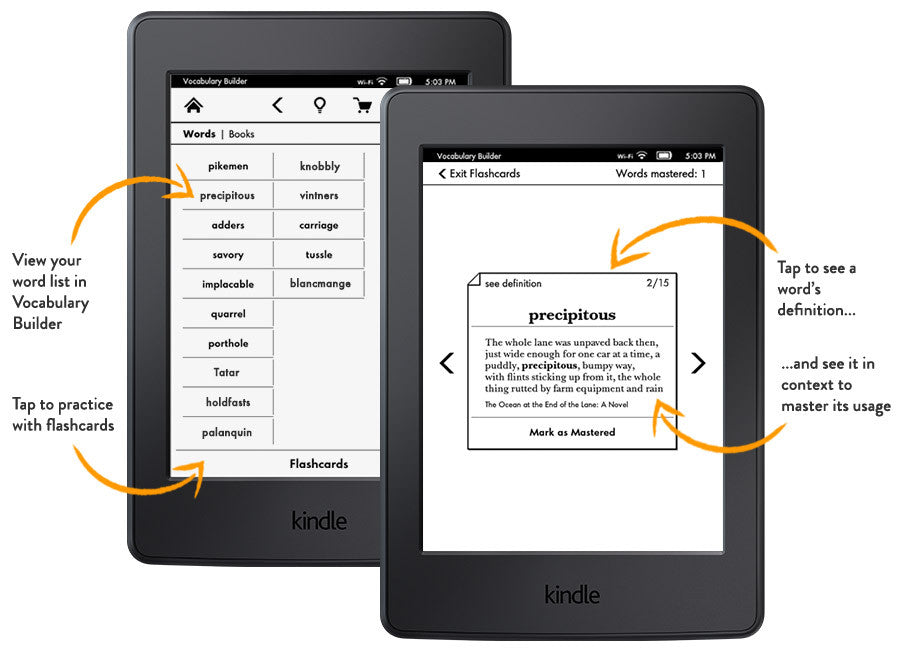 Amazon Kindle Paperwhite, White, Wi-Fi without Advertisements (US Set, 7th Generation)