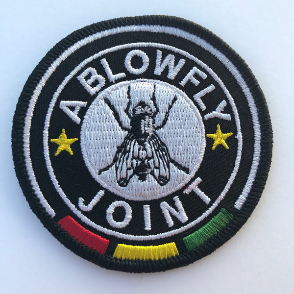 A Blowfly Joint Circle Logo Patch