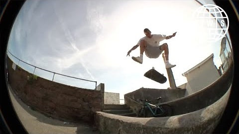 Glen Fox and Ryan Cunningham in Pandora's Box | Skateboarding on Jersey Island