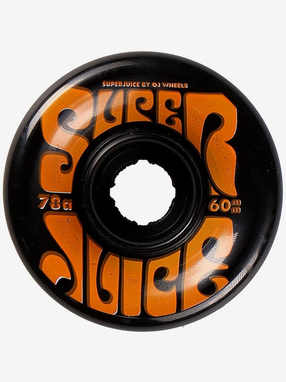 OJ Super Juice Black Wheels 60mm/78a