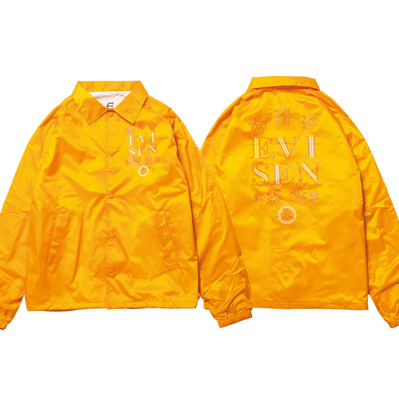 EVISEN HONG KONG COACH JACKET - GOLD