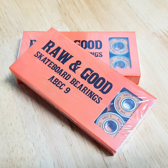 RAW & GOOD BEARINGS