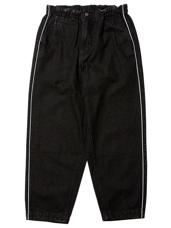 EVISEN Easy As Pie Denim Pants - Black /L