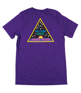 WELCOME AWAY TEAM S/S TEE - PURPLE