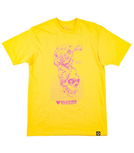 WELCOME REAL HELL S/S TEE - YELLOW