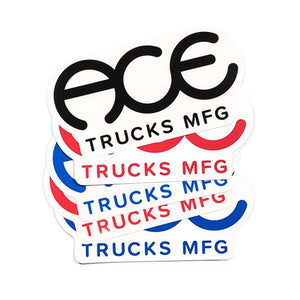 ACE TRUCKS STANDARD LOGO STICKER - 6""