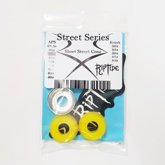 RIP TIDE Short Street Cone Bushings 90a - Yellow