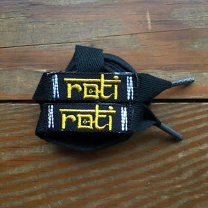 ROTI SHOELACE BELT - BLACK