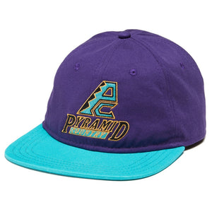 PYRAMID COUNTRY DBAGS CAP - PURPLE