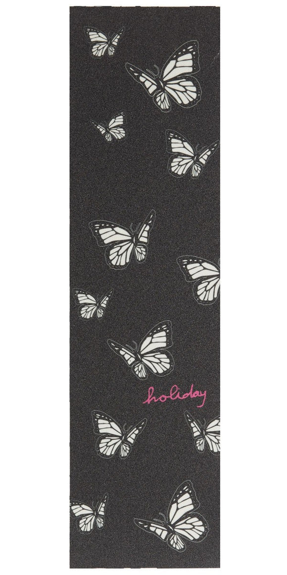 HOLIDAY Mariposa Clear Printed Black Griptape