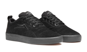 LAKAI BRISTOL SHOES - BLACK/BLACK SUEDE
