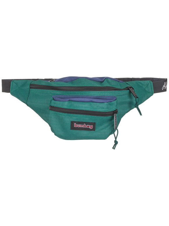 BUMBAG LOUIE LOPEZ HYBRID HIP BAG - NAVY/FOREST GREEN