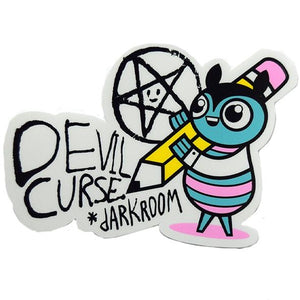 DARKROOM CURSE STICKER