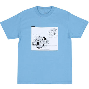 QUASI EARTH A.D. TEE - BLUE