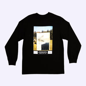 QUASI EXHIBITION [BLACK] L/S TEE