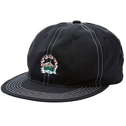 EVISEN EVIREST 6 PANEL CAP - BLACK