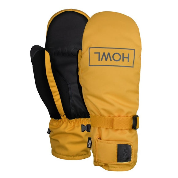 HOWL FAIRBANKS MITT - YELLOW