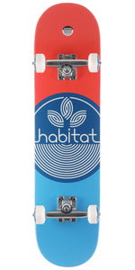 HABITAT Leaf Dot Blue Complete 7.75""
