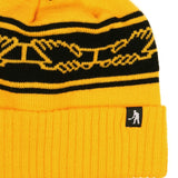 PASSPORT INTER.SOLID POM POM BEANIE - GOLD