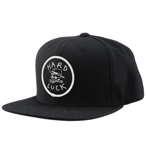 Hard Luck OG Logo Unstructured Snapback - Black