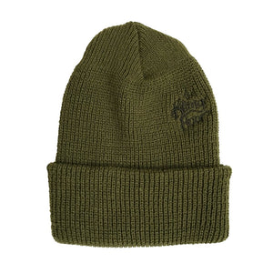 THE KILLING FLOOR WATCHCAP BEANIE - OLIVE