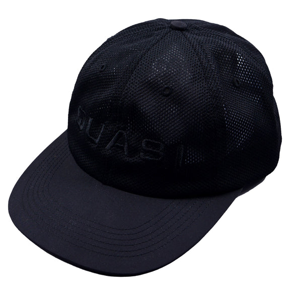 QUASI Perf Black 6 Panel Cap