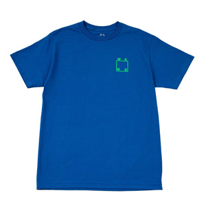 WKND LOGO TEE - ROYAL