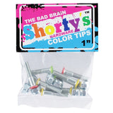 SHORTY'S COLOR TIPS THE BAD BRAIN HARDWARE 1""