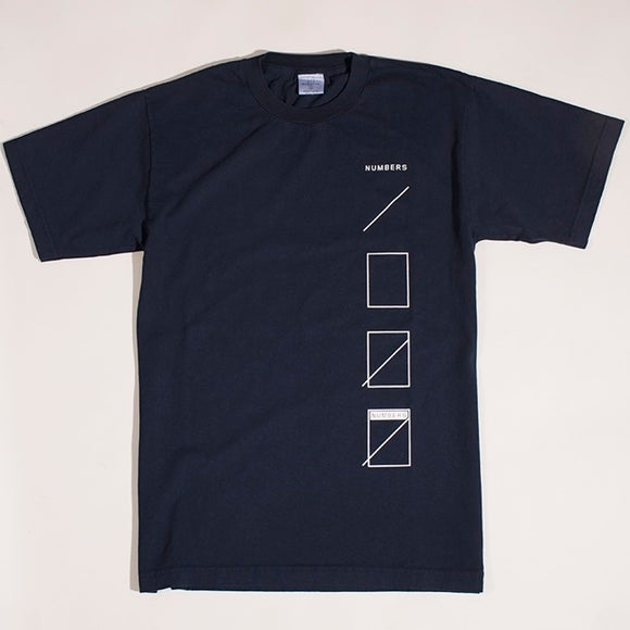 NUMBERS ESSEMLY T-SHIRT - NAVY