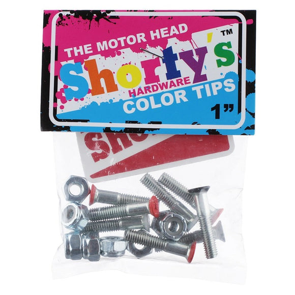 SHORTY'S COLOR TIPS THE MOTOR HEAD HARDWARE 1