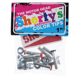 SHORTY'S COLOR TIPS THE MOTOR HEAD HARDWARE 1""
