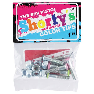 SHORTY'S COLOR TIPS THE SEX PISTOL HARDWARE 1""