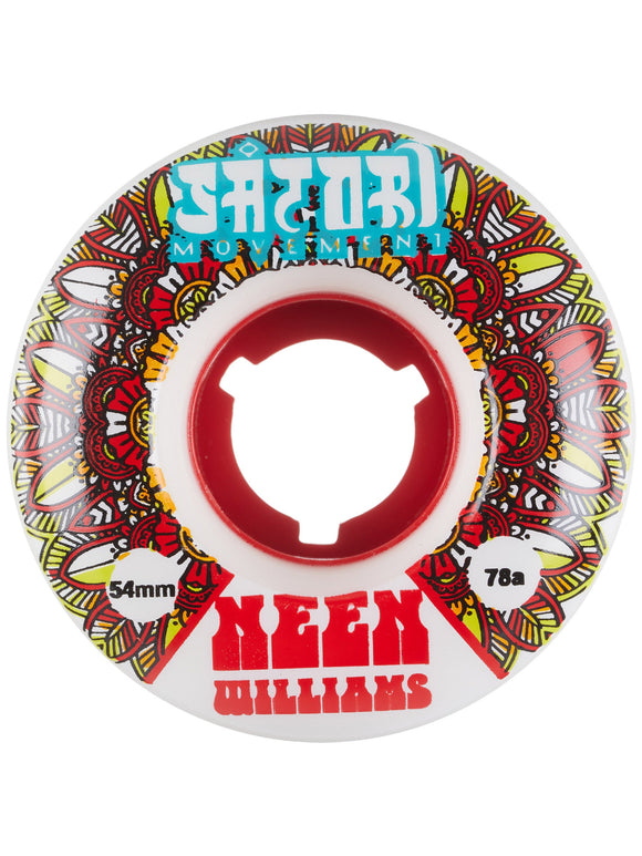 SATORI Neen Williams Native Cruiser Wheels 54mm/78a