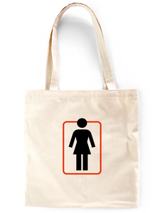 GIRL Unboxed Canvas Tote Bag
