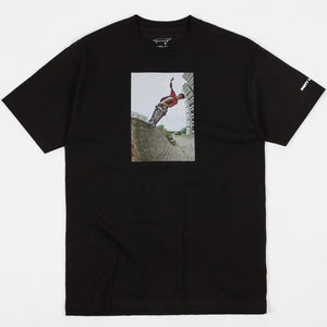CRAILTAP GONZ 80's PARTY TEE - BLACK