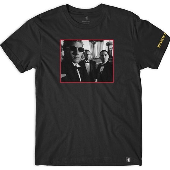 GIRL X BEASTIE BOYS SURE SHOT PHOTO TEE - BLACK